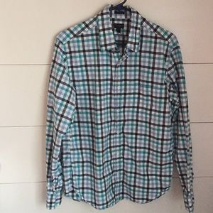 J. Crew Men's Plaid Shirt M